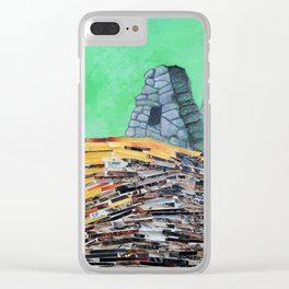 This Must Be The Place (Machu Picchu) Clear iPhone Case