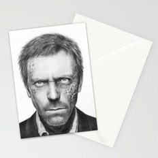 Hugh Laurie from House MD Doctor House Stationery Cards