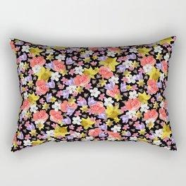 Floral Haze Rectangular Pillow