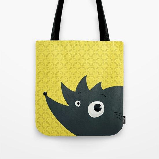 Cute Cartoon Hedgehog Tote Bag