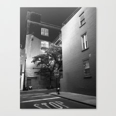 Minetta Street - Solarized Canvas Print