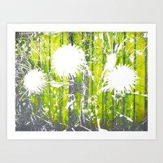 FlowerPower Fantasy 3 Art Print