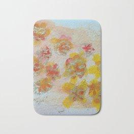 Bold Blossom Bath Mat