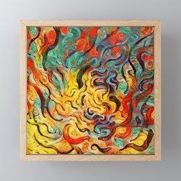 Pure Release Framed Mini Art Print