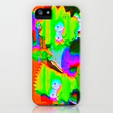 simpsons acid glitch Slim Case iPhone (5, 5s)