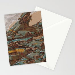 Aerial Station Two Stationery Cards