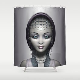 From the stars Shower Curtain