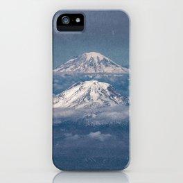 Mount Adams Mt Rainier - PNW Mountains iPhone Case