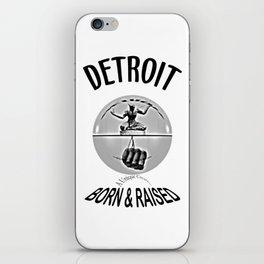 Detroit - Born & Raised - Dark iPhone Skin