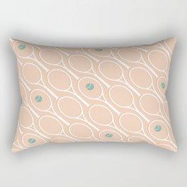 Pink Tennis #society6 #decor #buyart Rectangular Pillow