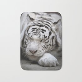 White tigress Bath Mat