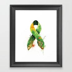 Nature Ribbon Framed Art Print