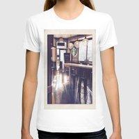 starbucks T-shirts featuring Starbucks by Art By JuJu