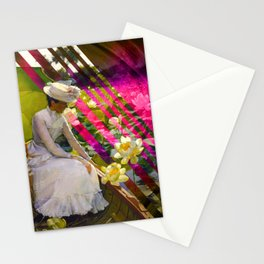 Summer Lotus Stationery Cards