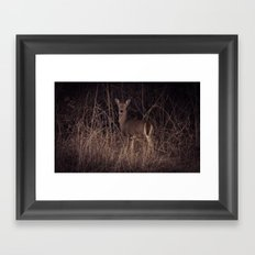 Glances  Framed Art Print