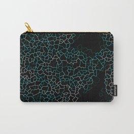 Aqua Crackle Carry-All Pouch
