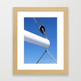 Grin Framed Art Print