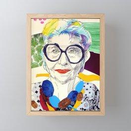 Fashion Icon Fanart Framed Mini Art Print