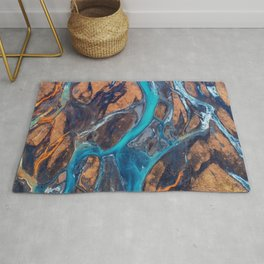 River Top View Rug