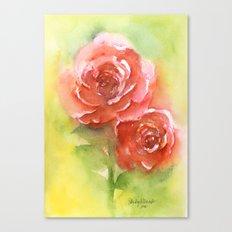 Floral study Canvas Print