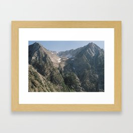 Sierra Nevada Framed Art Print