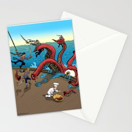 The Pirate Ship Chef Stationery Cards