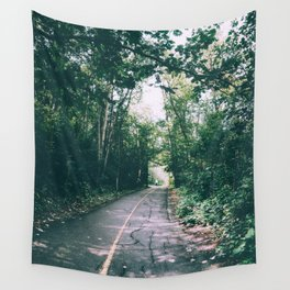 River Valley Path Wall Tapestry