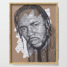 DNA - Kendrick Lamar Serving Tray