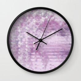 Pink Pattern 57 Wall Clock