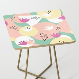 Pop of Color and Doodles Side Table