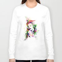 marylin monroe Long Sleeve T-shirts featuring Monroe. by David