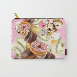 PINK & VANILLA PASTY INDULGENCE ART Carry-All Pouch
