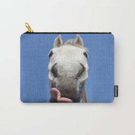 Horse Licks Photography Print Carry-All Pouch