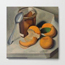 Still Life with Mandarin's in Paris portrait painting by Tamara de Lempicka Metal Print