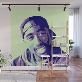 Tupac Wall Mural