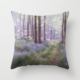 The Hidden Path Throw Pillow