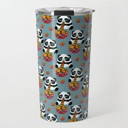 Cute fast food panda Travel Mug
