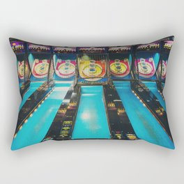 Skee Ball print Rectangular Pillow