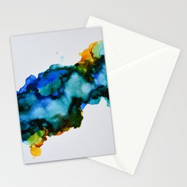 Galaxy Flow Stationery Cards