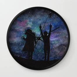 Look at the stars... (Harry Styles and Louis Tomlinson) Wall Clock