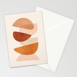 Overlapping Shapes Stationery Cards