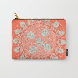 Coral Patch of Light Carry-All Pouch