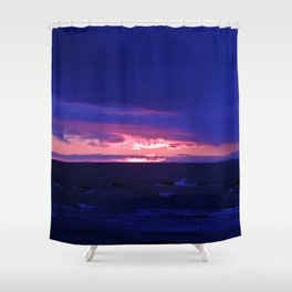 Purple Twilight Shower Curtain