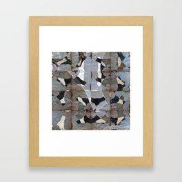 Rorschach Quilt Framed Art Print