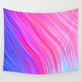 stripes wave pattern 1 c80vi Wall Tapestry