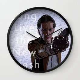 Long Live the New Flesh 3 Wall Clock