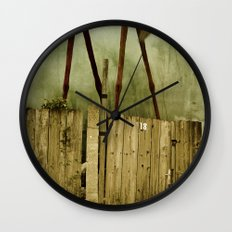 The Painted Horse Wall Clock