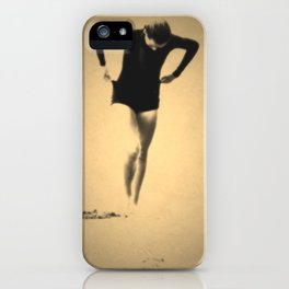 Woman Emerging (l) iPhone Case