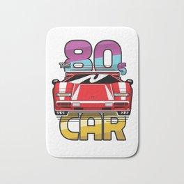 The 80's Car Bath Mat