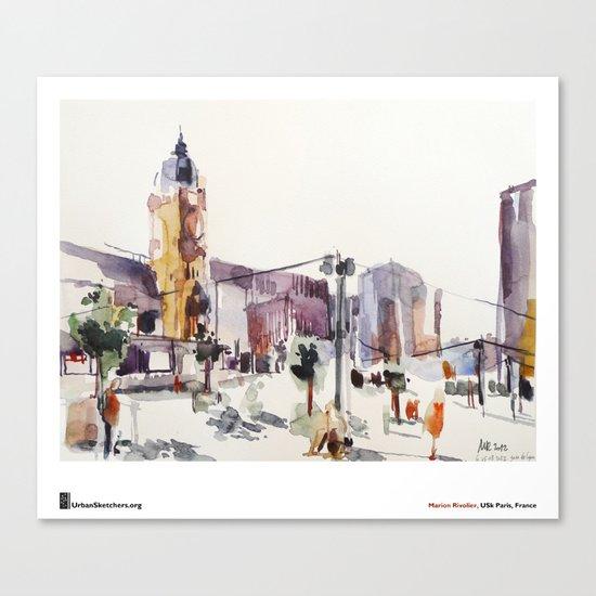 """Marion Rivolier, """"Gare de Lyon"""" Canvas Print"""